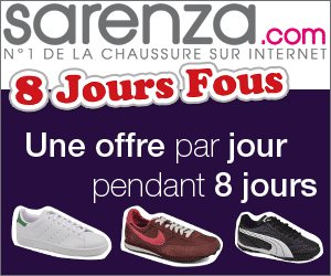 Promotion chaussures Sarenza