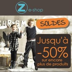 Soldes vêtements enfant Z e-shop