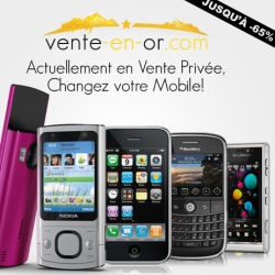 vente priv e discount mobiles iphones et smartphones. Black Bedroom Furniture Sets. Home Design Ideas