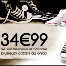 Chaussures Converse pas cher