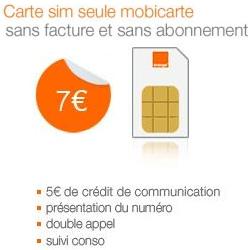 Vente Flash A 50 Sur La Carte Sim Orange