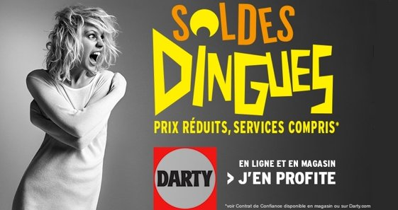 Soldes chez Darty