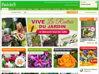 jardinerie bakker plantes et fleurs jardin pas cher